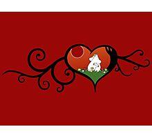 Moomin True Love Photographic Print