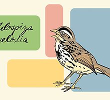 Song Sparrow by Tweedles