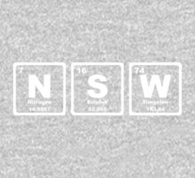 NSW - Periodic Table Kids Clothes