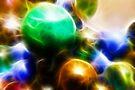 Coloured orbs by Benedikt Amrhein