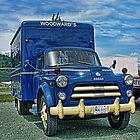 Old Woodwards Delivery truck by rharrisphotos