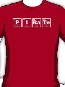 Pirate - Periodic Table T-Shirt