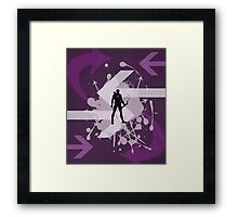 Hawkeye Arrow Print Framed Print