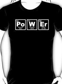 Power - Periodic Table T-Shirt