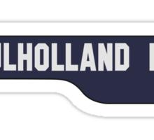 Mulholland Drive Sticker