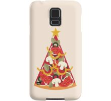 Pizza on Earth - Vegetarian Samsung Galaxy Case/Skin