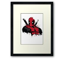 DeadPool shirt Framed Print
