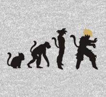 Saiyan Evolution by PlanetEarth