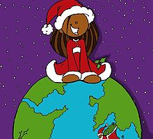 Santa Around the World by Nicarea