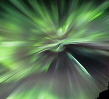Northern Lights Corona by Frank Olsen