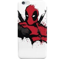 DeadPool shirt iPhone Case/Skin
