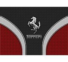 Ferrari Lover [NEW ~ Silver] Photographic Print