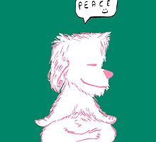 Yoga Puppy by Nitin  Kapoor