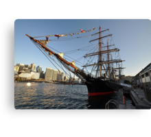 James Craig @ Darling Harbour, Sydney, Australia 2013 Canvas Print