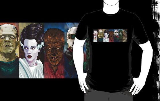 Monster Squad by RoguePlanets