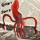 Giant Squid by CassTebeau