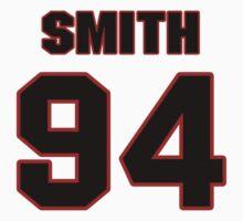 NFL Player Justin Smith ninetyfour 94 by imsport