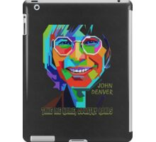 John Denver ~ Pop Art iPad Case/Skin