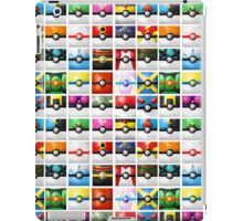 Pokeball collection iPad Case/Skin