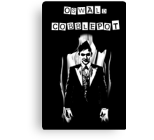 Oswald Cobblepot Canvas Print
