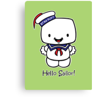 Hello Sailor! Canvas Print
