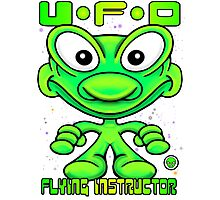 UFO Flying Instructor T Photographic Print