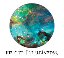 we are the Universe by primordialcloud