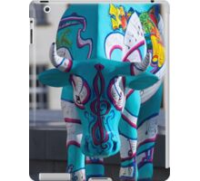 Painted Cow by Cathedral Youth, Ebrington Square Derry iPad Case/Skin