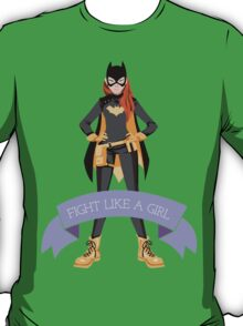 Fight Like a Girl: Batgirl T-Shirt