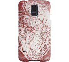 Scratched Heart Samsung Galaxy Case/Skin
