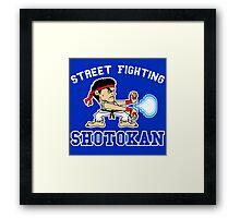 Street Fighting Shotokan Framed Print