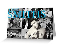 The Smiths / Morrissey Collage Greeting Card
