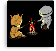 Bonfire Buddies - Dark Souls Canvas Print
