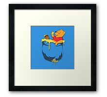 Pocket Pooh Framed Print