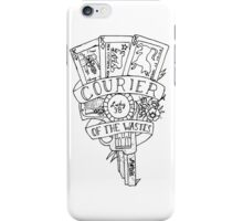 fallout new vegas flash (black variant) iPhone Case/Skin