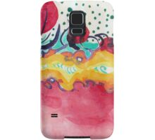Caterpillar, abstract ink painting. Samsung Galaxy Case/Skin