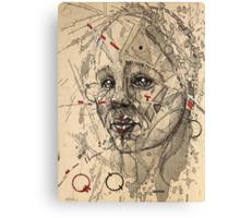 Glitch 10 Canvas Print