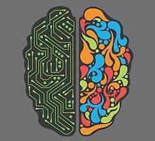 Technological Brain by Zack Kalimero