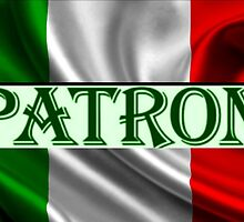 ITILIAN FLAG with the word PATRON by Princess1222