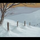 Snowy thing by Brandon  Riddoch