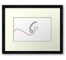Beats by Dr. Dre Framed Print