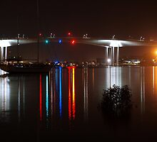 Gateway Bridge Reflections  by Wayne  Nixon  (W E NIXON PHOTOGRAPHY)