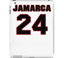 NFL Player Jamarca Sanford twentyfour 24 iPad Case/Skin
