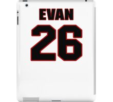 NFL Player Evan Royster twentysix 26 iPad Case/Skin