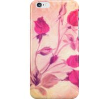 Silky Red Roses 2 iPhone Case/Skin