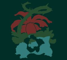 【8200+ views】Pokemon Bulbasaur>Ivysaur>Venusaur T-Shirt