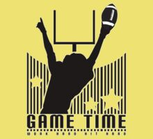 Game Time - Football (Yellow) Kids Clothes