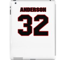 NFL Player Anderson Russell thirtytwo 32 iPad Case/Skin