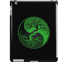Green and Black Tree of Life Yin Yang iPad Case/Skin