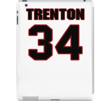 NFL Player Trenton Robinson thirtyfour 34 iPad Case/Skin